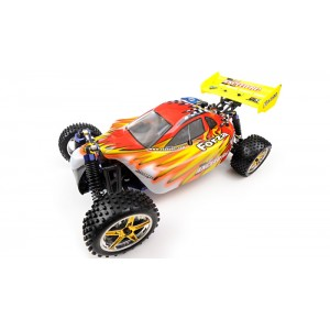 Exceed Forza Off Road Buggy 1/10 Nitro Powered 2-Speed .18 Engine 2.4Ghz - Fire Red - RTR
