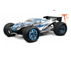Exceed MadWarrior Truggy 1/8Th Scale Nitro Powered 1-Speed .28 Engine 2.4 Ghz - Alpha Blue - RTR