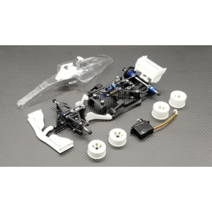 GL Racing GLF-1 F1 RWD Carbon Fiber 1/28 Chassis Kit (Without RX, ESC)
