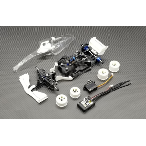 GL Racing GLF-1 F1 RWD Carbon Fiber 1/28 Chassis Kit