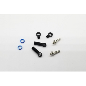 GL Racing GLF screw adjustable dampers with piston rod