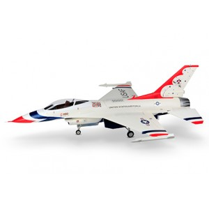 HSDJETS F-16 Foam Turbine 1245mm Wingspan White
