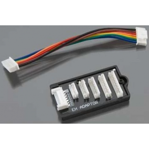 Hitec RCD EH Battery Balancer Adapter for X4 Charger