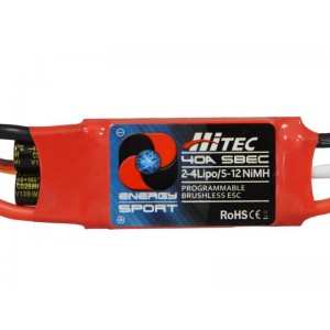 Hitec RCD Energy Sport 40 amp Electronic Speed Controller