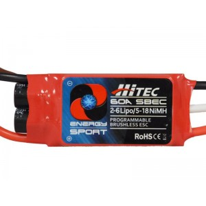 Hitec RCD Energy Sport 60 amp Electronic Speed Controller