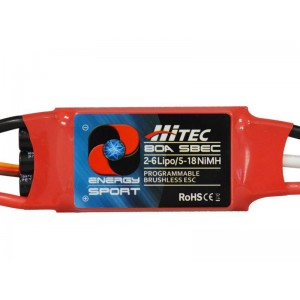 Hitec RCD Energy Sport 80 amp Electronic Speed Controller