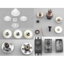Servo Gear, Case Sets and Accessories