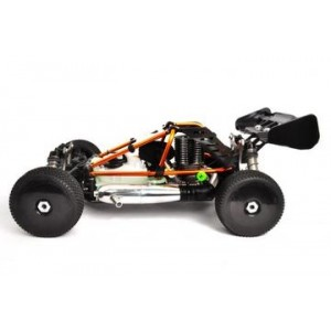 HoBao HYPER CB 1/8 CAGE BUGGY NITRO-ORANGE W/28 TURBO ENGINE
