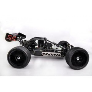 Hobao HYPER CT 1/8 CAGE TRUGGY NITRO RTR W/30 TURBO ENGINE (BLACK BODY)