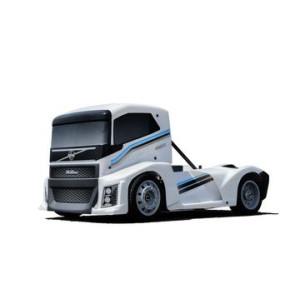 Hobao Hyper EPX 1/10 Semi Truck On-Road ARR, W/ Pearl White Body, W/O ESC, Servo, 2.4G RC HB-GPX4E-W
