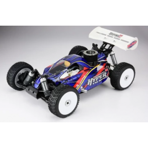 HoBao HYPER 7 TQ 1/8 BUGGY NITRO W/28 TURBO ENGINE RTR (BLUE BODY)