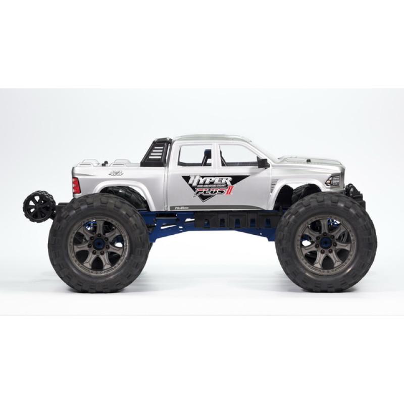 HoBao Hyper MT Plus II Monster Truck RTR- Siliver White Body