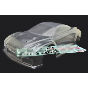 HoBao 1/8 HYPER GTB ON-ROAD CLEAR BODY-LONG