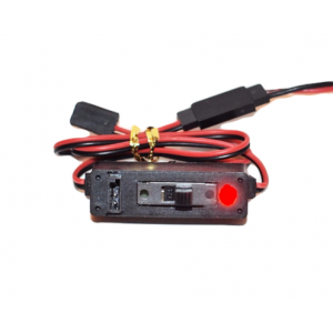 Hobbyshop247 HD Switch with Red LED
