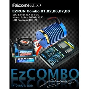 Hobbywing EZRUN B6 Combo for 1/10 - 1/12 Car Sensorless