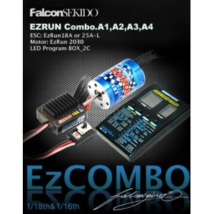 Hobbywing EZRUN Series Brushless Combo for 1/18 / 1/16 Car (A Series)