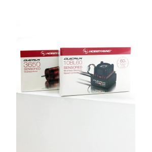 Hobbywing QUICRUN 10BL60 Sensored ESC COMBO (Bundle)