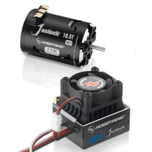 Hobbywing XR10 Justock ESC G2.1 COMBO (ESC + motor)