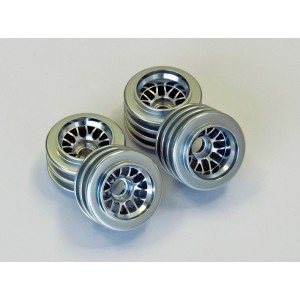 Kyosho Aluminum Wheel(BBS/Silver/F7: