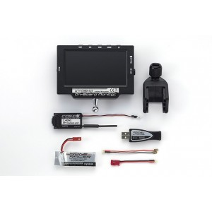 Kyosho 82724BC-B ONBOARD MONITOR w/LiPo & USB Charger