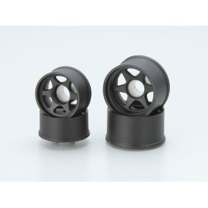Kyosho DIS - Wheel Set LM (6 Spoke / Black)