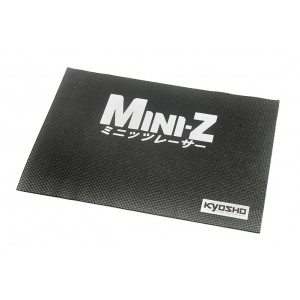 Kyosho KA30008BK Mini-Z Black Pitmat 17x24 inch