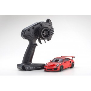 Kyosho 32321OR-B MINI-Z RWD Porsche 911 GT3 RS Lava Orange RS