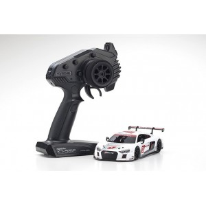 Kyosho 32323AS-B MINI-Z RWD Audi R8 LMS White 2015 MR-03 Readyset