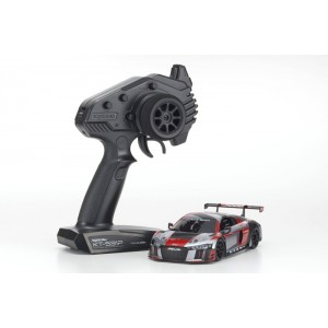 Kyosho 32323RGB-B MINI-Z RWD Audi R8 LMS 2016 Gray/Red MR-03 Readyset