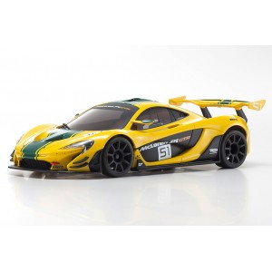 Kyosho 32324YG-B MINI-Z RWD McLaren P1 GTR Yellow/Green MR-03 RS