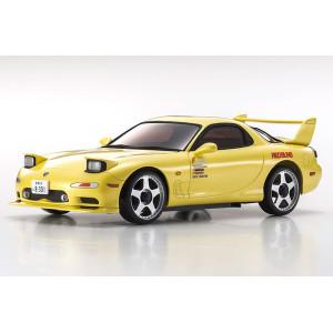 Kyosho 32612Y MINI-Z AWD Initial D RX-7 Mazda FD3S Yellow