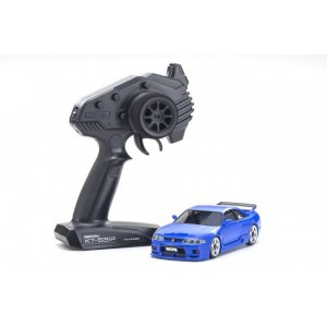 Kyosho 32616BL MINI-Z AWD SKYLINE GT-R NISMO (R33) Blue MA-020 RS