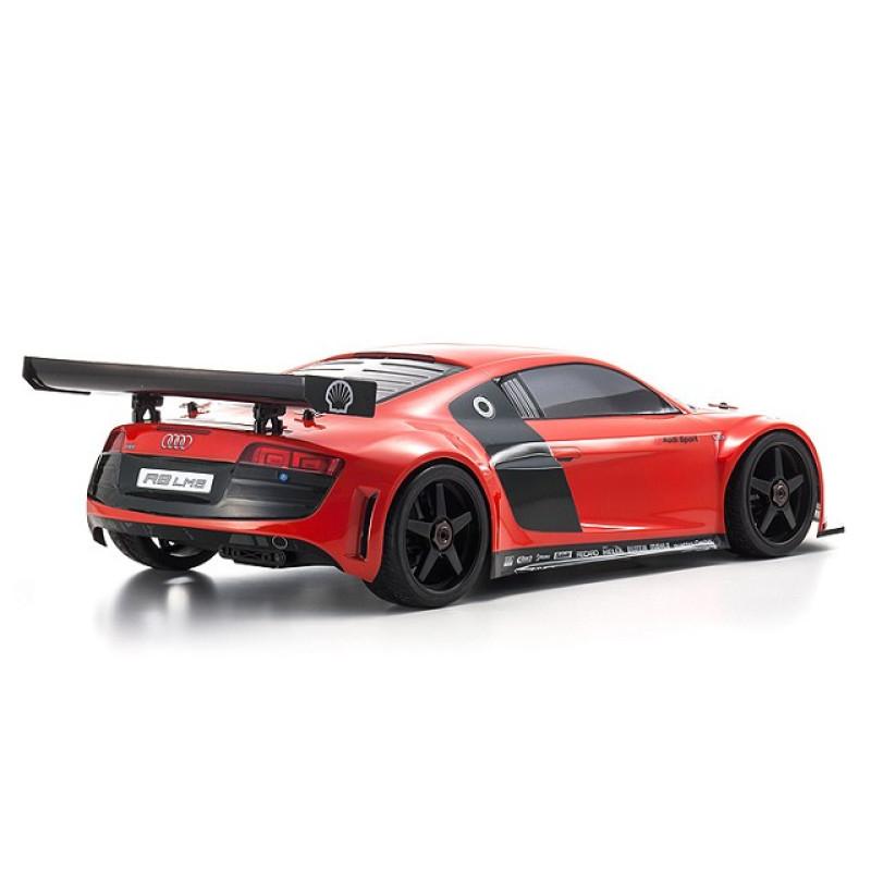 Kyosho 33006B Inferno GT2 Audi R8 LMS Red Race SPEC 1/8 GP 4WD Nitro RS
