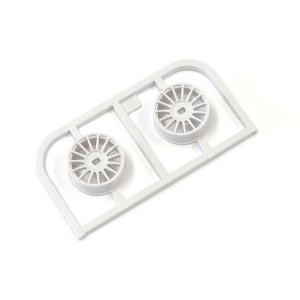 Kyosho MDH100W-N0 Multi Wheel N/Offset 0 (White/AWD/2pcs.)