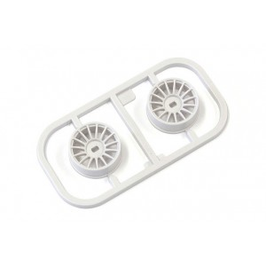 Kyosho MDH100W-N15 Multi Wheel N/Offset 1.5(White/AWD/2pcs.)