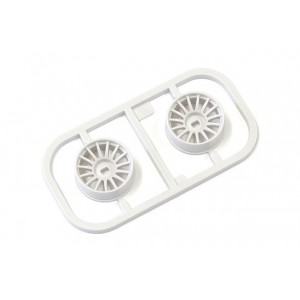 Kyosho MDH100W-N35 Multi Wheel N/Offset 3.5(White/AWD/2pcs.)