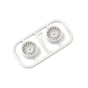 Kyosho MDH100W-W0 Multi Wheel W/Offset 0 (White/AWD/2pcs.)