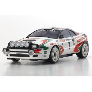 Kyosho MZP446JK ASC MA-020 Toyota CELICA TURBO 4WD No. 7 WRC 1993 Juha Kankkunen
