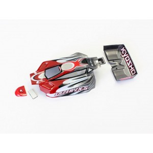 Kyosho Body Set (LAZER/Red Gray)