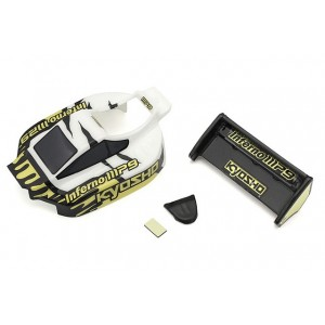 Kyosho MBB03WBK Body Set(INFERNO MP9 TKI3/White/Black)