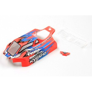 Kyosho Body Set (LAZER ZX6/K.Akimoto Version)
