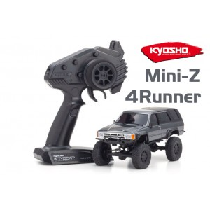 Kyosho 32522GM MINI-Z 4x4 Metallic Grey Toyota 4Runner Crawler MX-01 ReadySet