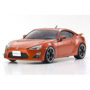 Kyosho MZP136MO ASC MR-03N-RM TOYOTA 86 Metallic Orange