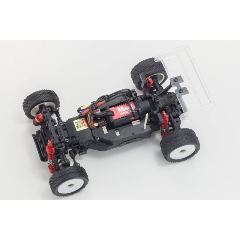Kyosho 32292 MINI-Z Buggy VE 2.0 FHSS Inferno Clear Body Chassis Set