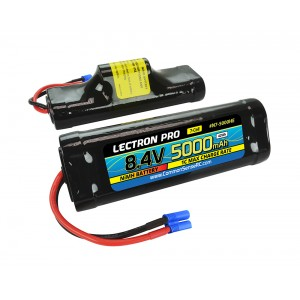 Lectron Pro NiMH 8.4V (7-cell) 5000mAh Hump Pack with EC3 Connector