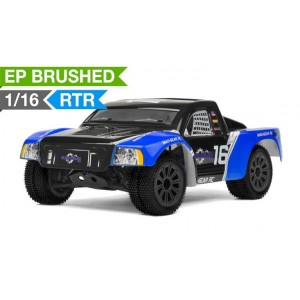 Mad Gear 1/16 Electric Short Course Truck 2.4ghz Ready to Run (Blue) RC Remote Control Radio Truck