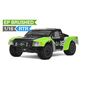 Mad Gear 1/16 Electric Short Course Truck 2.4ghz Ready to Run (Green) RC Remote Control Radio Truck
