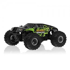 MicroX Racing 1/24 Micro Scale Desert Monster Truck Ready to Run 2.4ghz RC Remote Control Radio Car