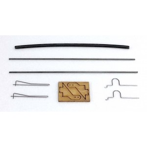 MinimumRC 90mm pushrod set for ailerons