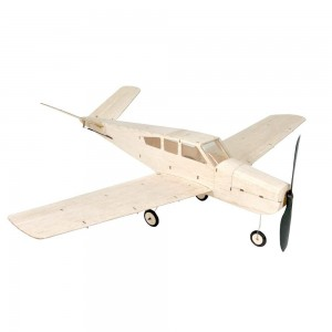 MinimumRC Beech V-35 4CH V-tail Balsa Airplane